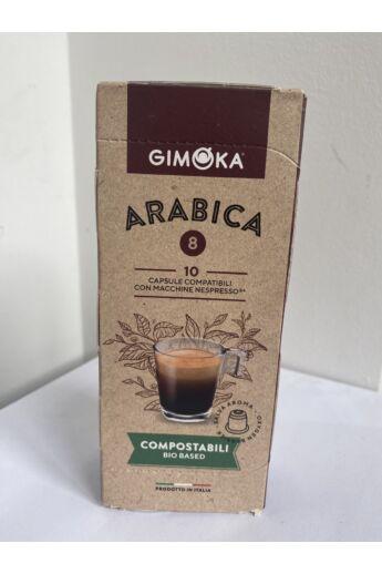 Gimoka 100% Arabica Nespresso kompatibilis bio kapszula