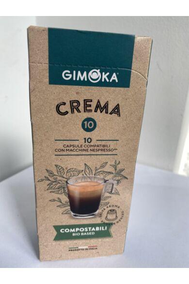 Gimoka Crema Nespresso kompatibilis lebomló kapszula