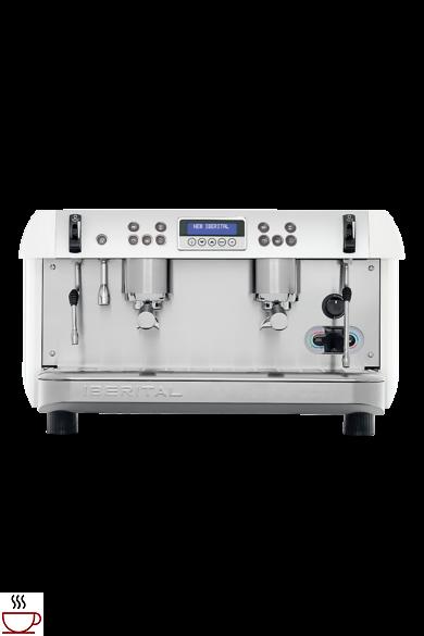 New Iberital kétkaros kávéfőző gép
