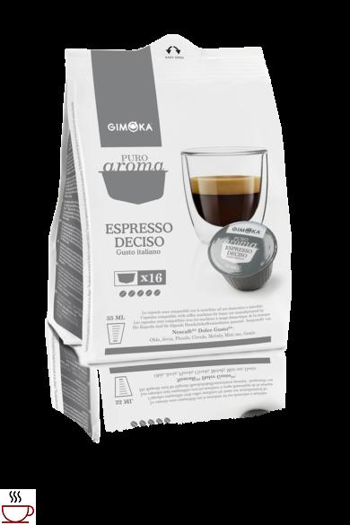 Gimoka Espresso Deciso Dolce Gusto kompatibilis kapszula