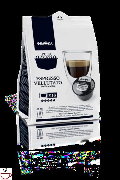 Gimoka Espresso Vellutato Dolce Gusto kompatibilis kapszula