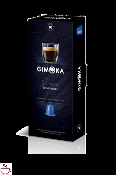 Gimoka Soave koffeinmentes Nespresso kompatibilis kapszula