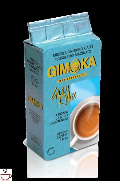 Gimoka Gran Relax Koffeinmentes őrölt kávé