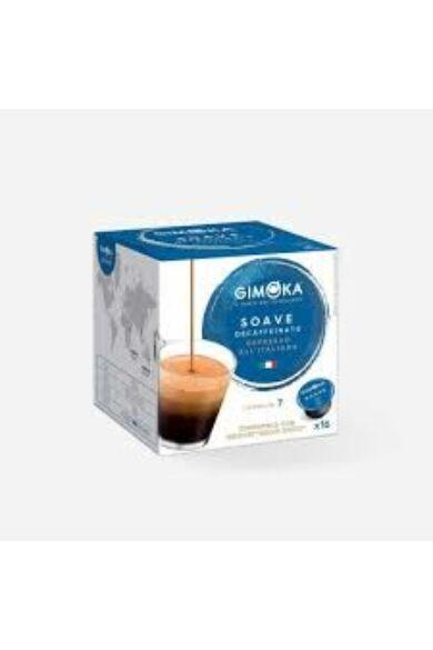 Gimoka Espresso Soave koffeinmentes Dolce Gusto kompatibilis kapszula